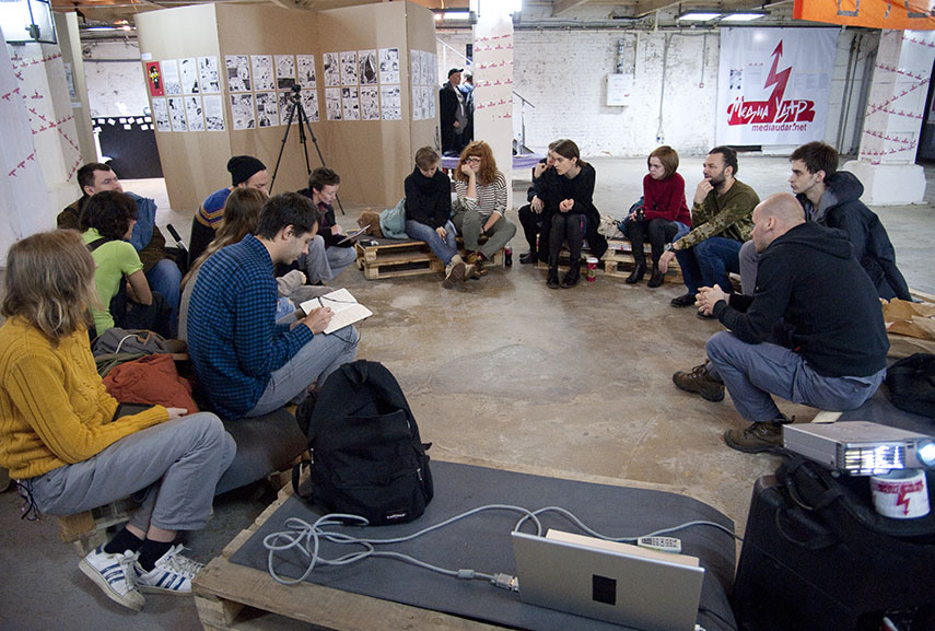 MediaImpact International Festival of Activist Art. Moscow 2014