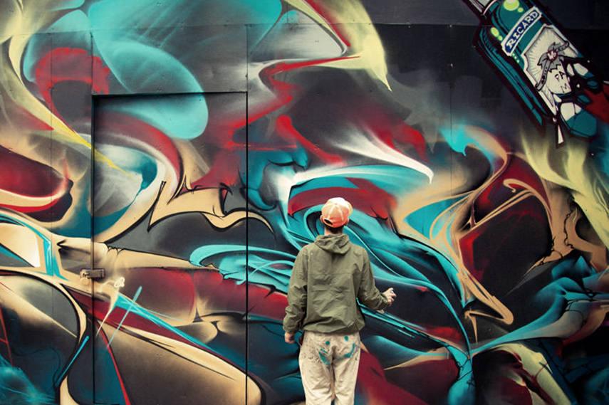 Meeting of Styles UK, street art festival