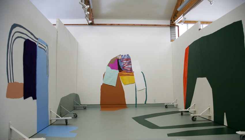 Megan Stroech - work by Chicago based artist, project - residence at Anderson Ranch Arts Center, 2012, installation view
