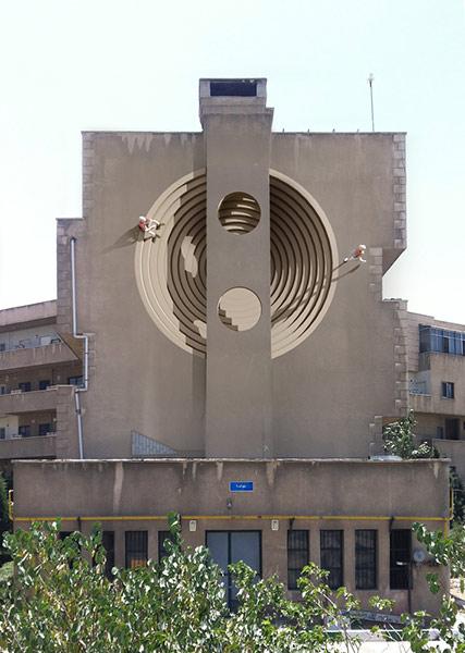 Murals in Tehran
