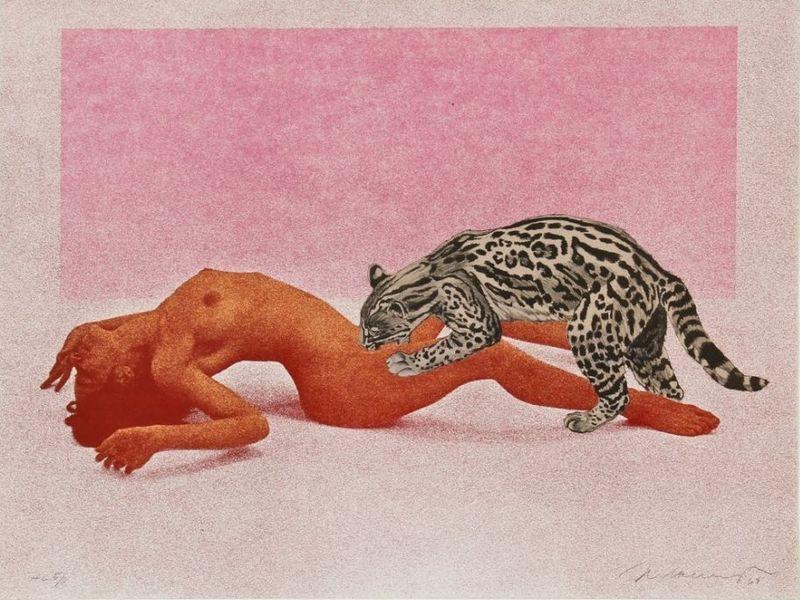 Mel Ramos - Ocelot, 1969, via Global Art Traders