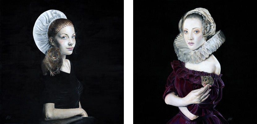 Melissa Hartley - Cherish (left) In the wee small hours (right) 2014