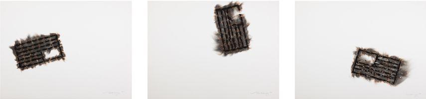 Melissa Vandenberg - Fall Trinity (Distress, Free Fall, Hole), 2018