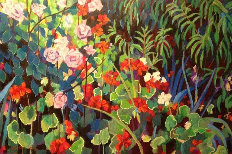 Mellissa Read-Devine - Rose, Geranium 2014