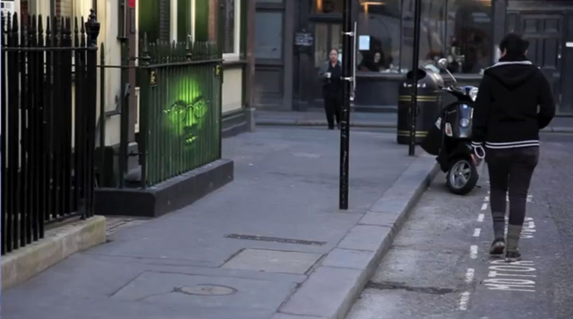 Mentalgassi for Amnesty International, Troy Davis on the streets of London, UK, 2010