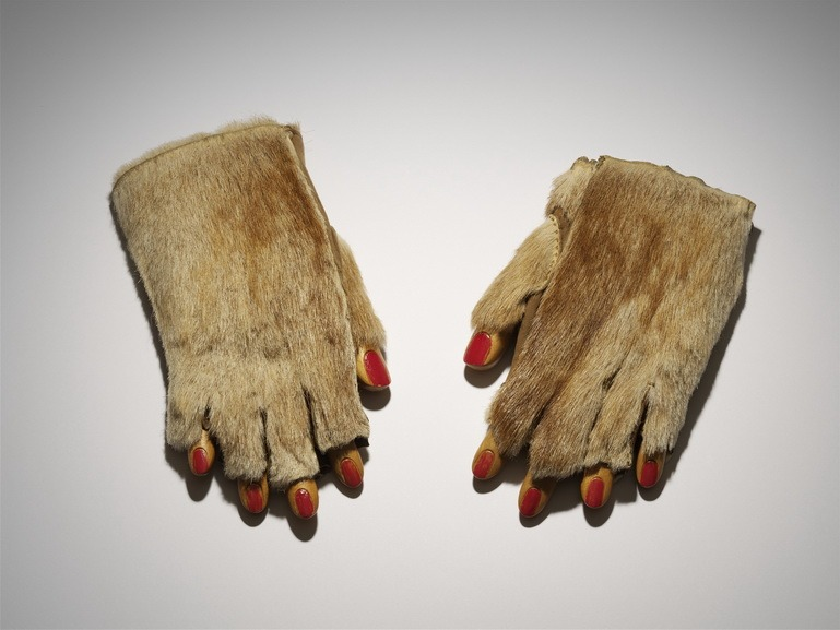Meret Oppenheim - Fur Gloves With Wooden Fingers