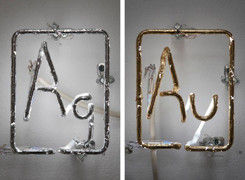 Meryl Pataky - Precious Metal Ag (Left) - Precious Metal Au (Right)