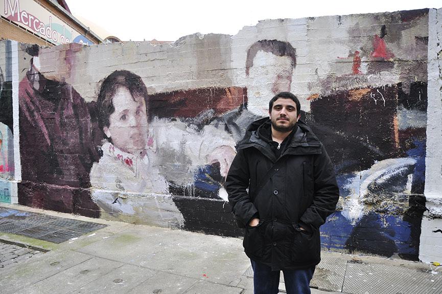 madrid street murals