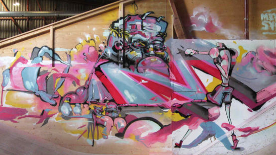 Meyk and Sybz - street art - photo credits of the artists
