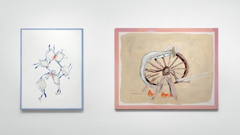 Micha Patiniott - Installation view ZzzzzZzzZzz - Anna Zorina Gallery, NY, 2014