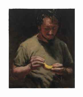Michael Borremans-The Banana-2006