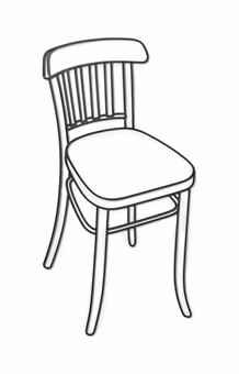 Michael Craig-Martin-Small Metal Chair-1985