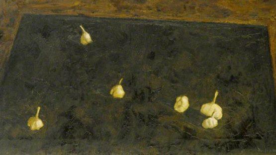 Michael Fussell - Garlic (Detail), 1956