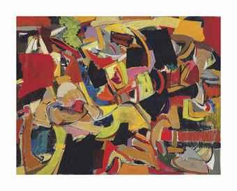 Michael Goldberg-Untitled-1947