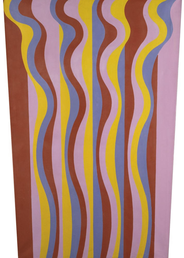 Michael Kidner-Orchid: Blue, Brown, Green And Violet-1967