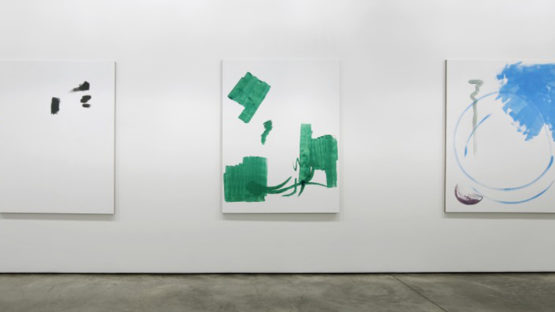 Michael Krebber at Maureen Paley, 2013