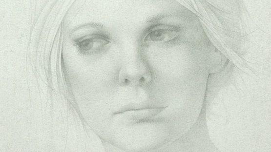 Michael Martin - Portrait of a Woman (detail)
