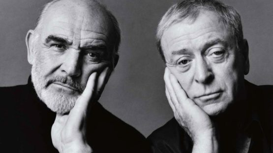 Michael O'Neill - British actors Sean Connery and Michael Caine, 1998 (Detail) - Copyright Michael O'Neill