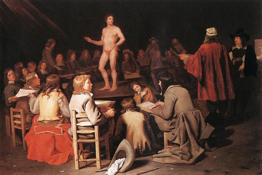 figure painting thomas light