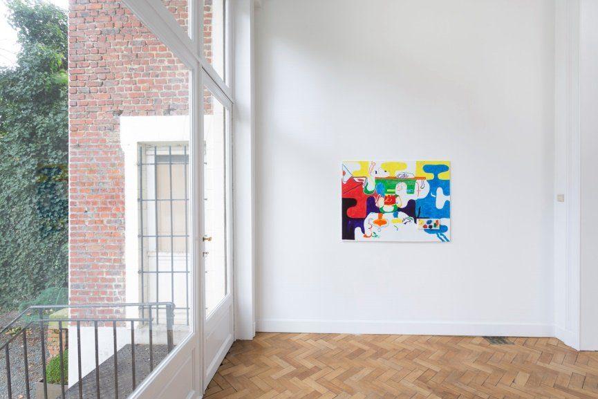 Michael Williams exhibition press