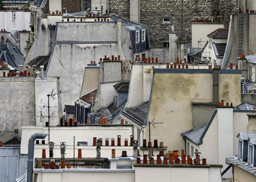Michael Wolf – Paris Rooftops 1, 2014