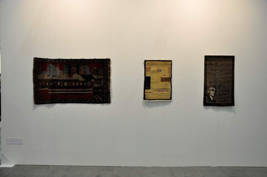 Michel Aubry, Eva Meyer Gallery at Artissima 2015