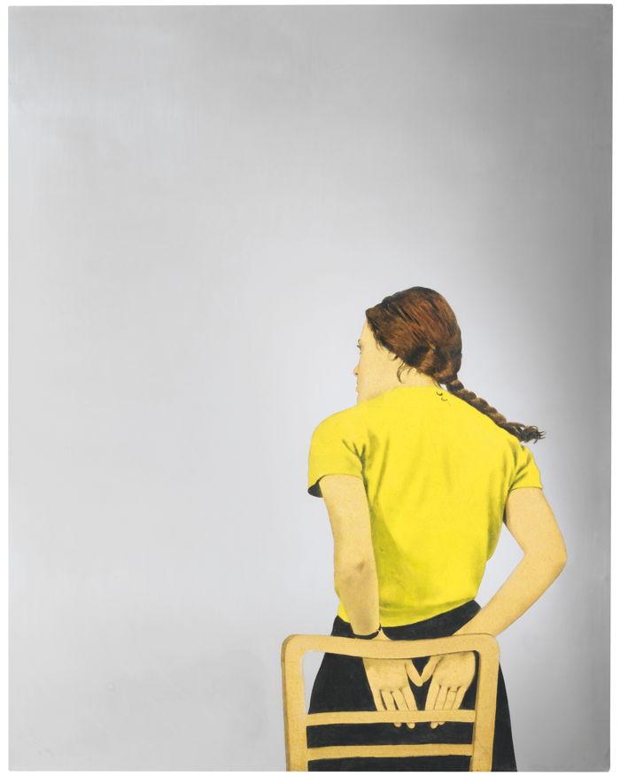 Michelangelo Pistoletto-Daniela Gialla-1968