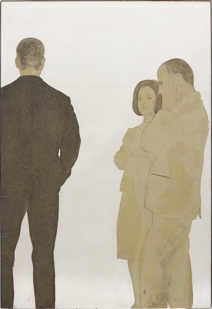 Michelangelo Pistoletto-Gruppo di persone-1962