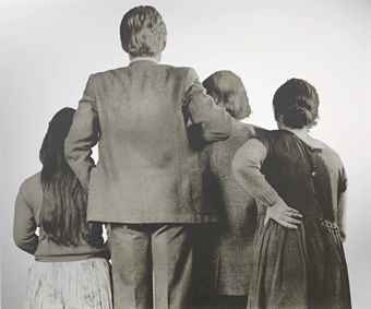Michelangelo Pistoletto-La folla (The Crowd)-1978