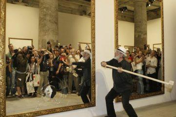 Michelangelo Pistoletto Blenheim Palace