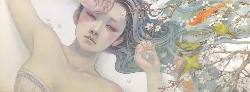 Miho Hirano - WF4 Canvas, 2014 posts world website Japanese new work