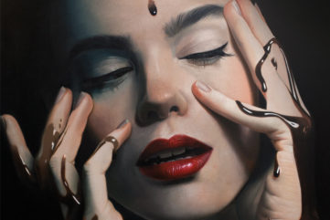 Mike Dargas was a tattoo master and now he is into photography and oil painting