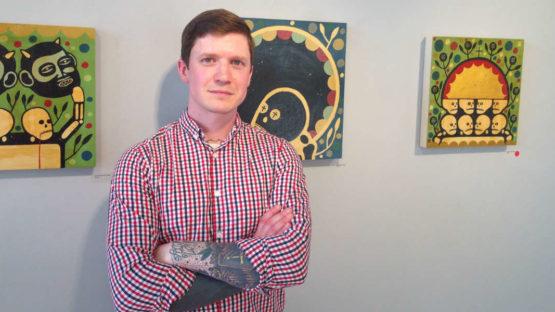 Mike Egan - Artist's profile - Image via urbanvinyldailycom