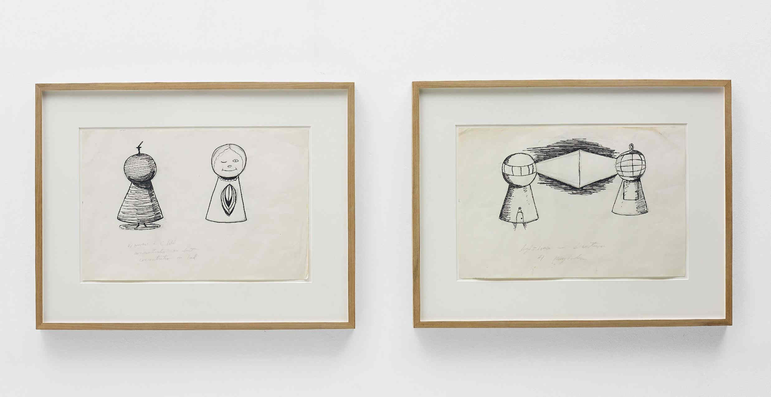 Mike Kelley-2 works: (i) Meditation on a Can of Vernors; (ii) Lighthouse-Lantern 1-1981