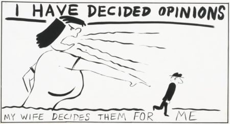 Mike Kelley-I Have Decided Opinions-1983