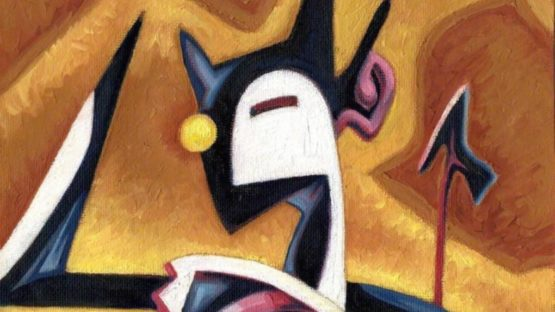 Mike Street - Abstract Devil (detail)