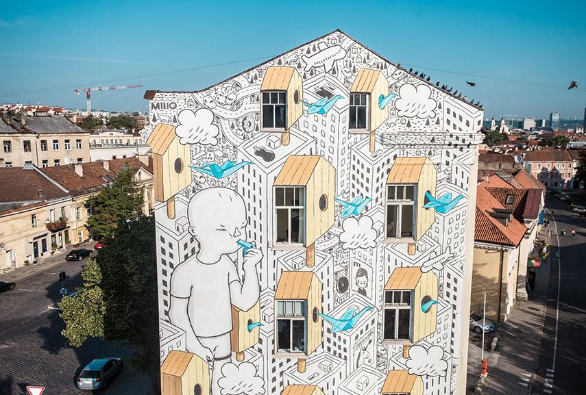 vilnius street art festival lithuania
