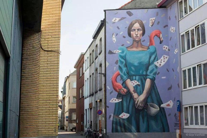Milu Correch - AliciaDuerme, Mechelen Murt, 2015, Belgium