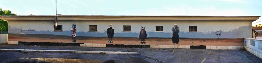 Milu Correch - Disciples of Peter Pan for a.DNA Project, Rome, Italy, 2015