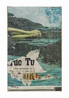 Mimmo Rotella-Sirena-1960