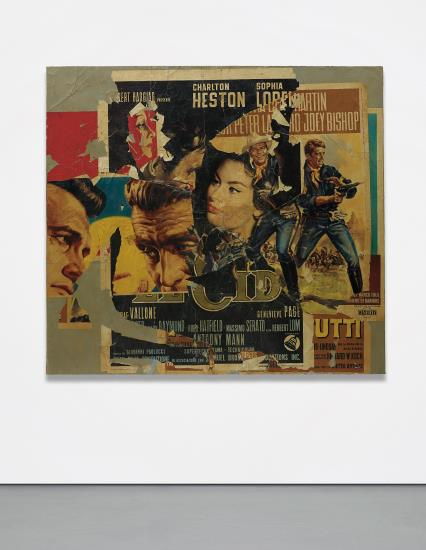 Mimmo Rotella-Untitled-1964