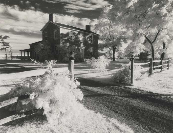 Minor White-Cobblestone House Avon N.Y.-1958