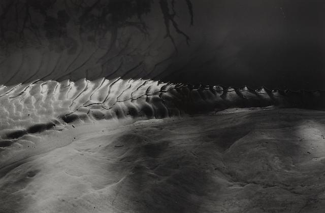 Minor White-Light Spine, Burr Trail, Utah-1966