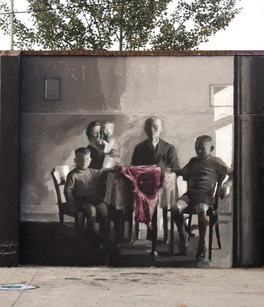 Miquel Wert and Albert Guasch - Cadavre Exquis, Barcelona 2016, photo credits Albert Guasch