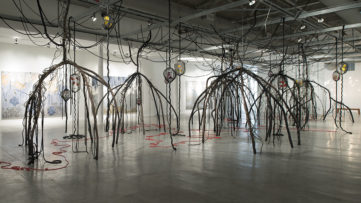Mira Lehr, Tracing the Red Thread at Museum of Contemporary Art North Miami