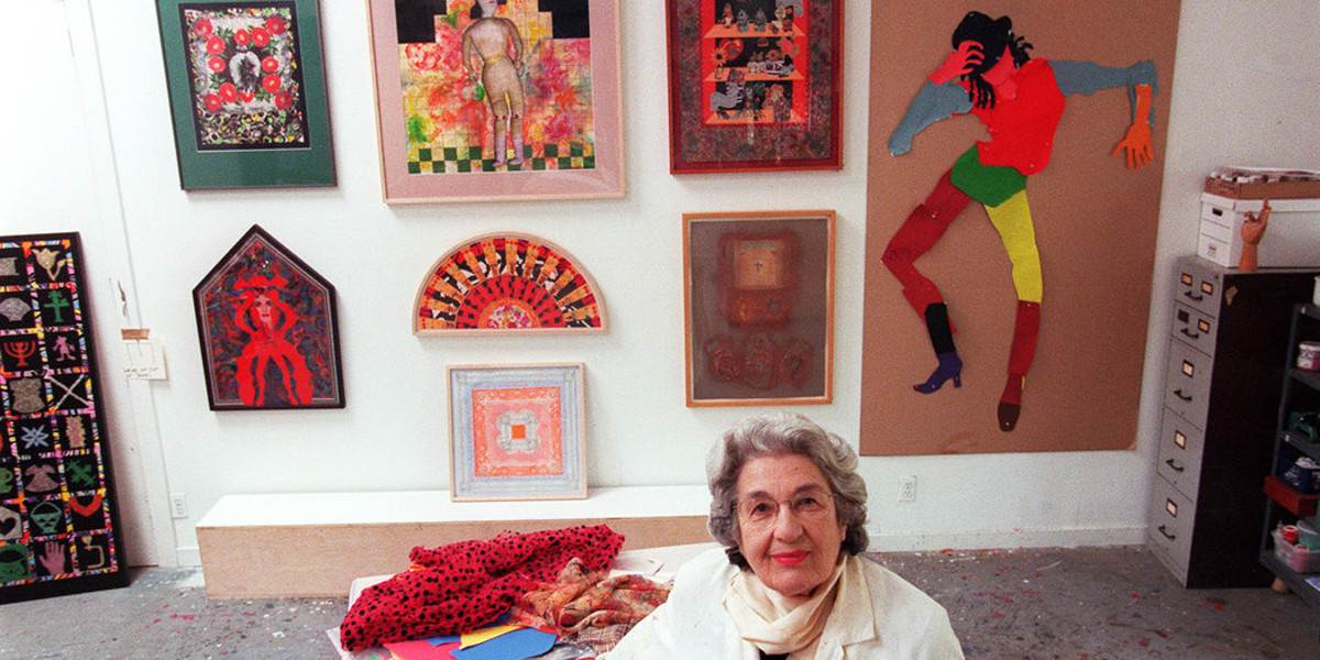 Biography of Miriam Schapiro   Widewalls