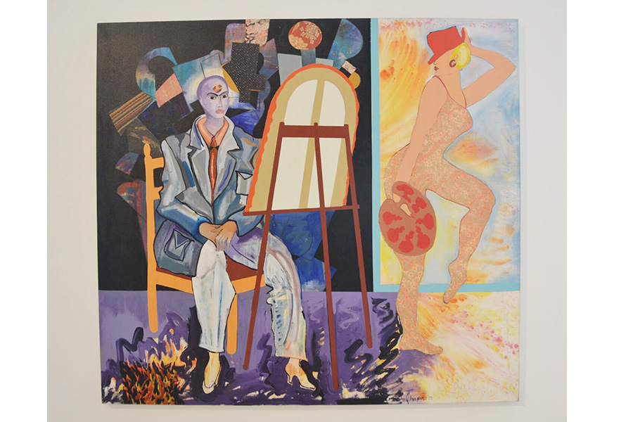Miriam Schapiro - Time, 1981-91