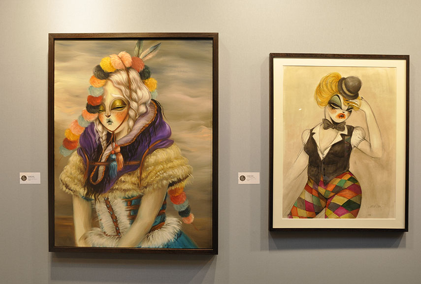 Miss Van, Galerie Openspace