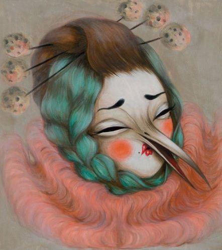 Miss Van-Sad Birdy Clown 2-2015
