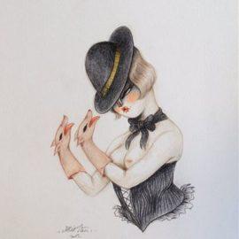 Miss Van-Kinky Gloves-2013